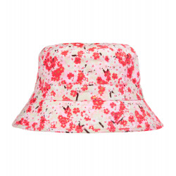 GIRLS JAPANESE BLOSSOM CANVAS HAT