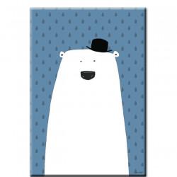 BLUE BEAR PRINT