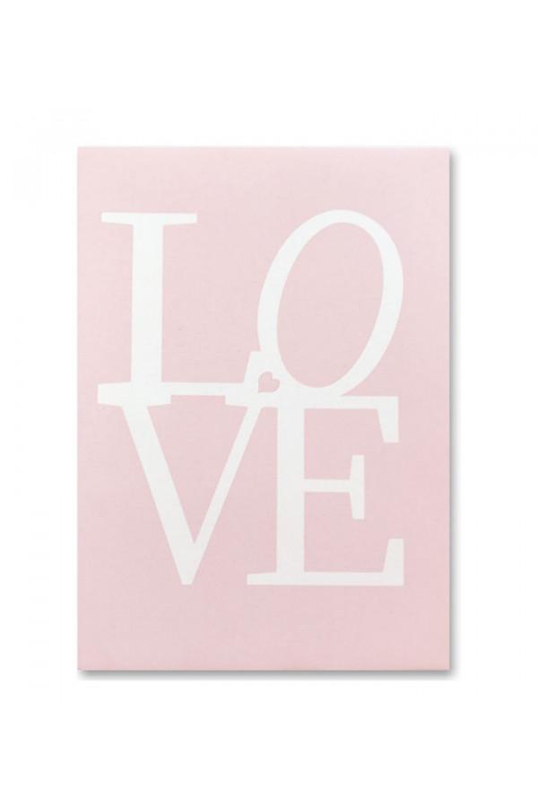 PINK LOVE CANVAS PRINT