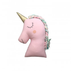 PINK UNICORN PILLOW