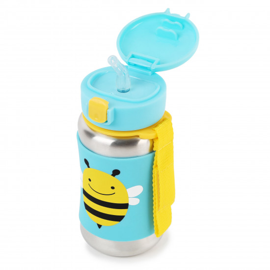 STAINLESS STEEL LITTLE KID STRAW BOTTLE