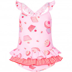 BABY GIRLS MINI CUPCAKE FRILL SWIMSUIT