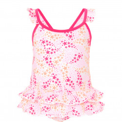 BABY GIRLS POPSTAR FRILL SWIMSUIT