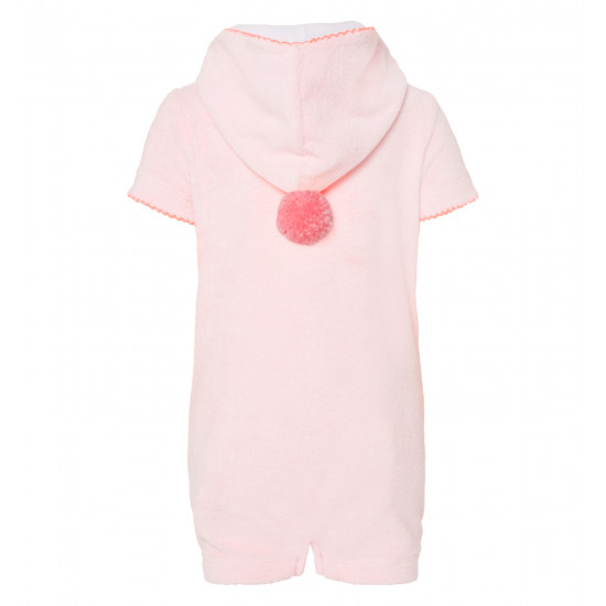 BABY GIRLS LIBERTY TOWELLING ONESIE