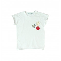 LITTLE DIVA TEE / WHITE