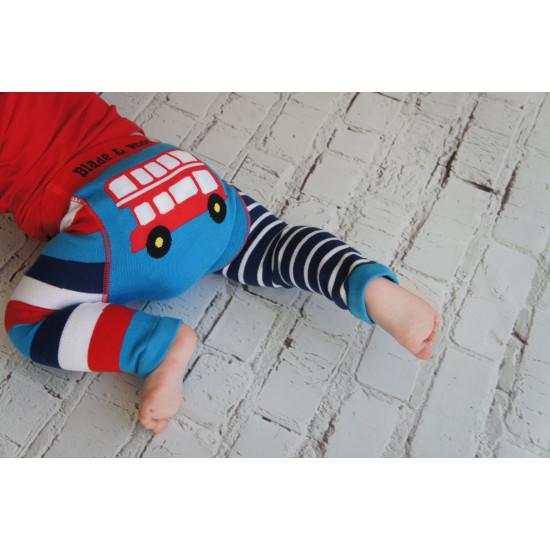 LONDON BUS BABY LEGGINGS