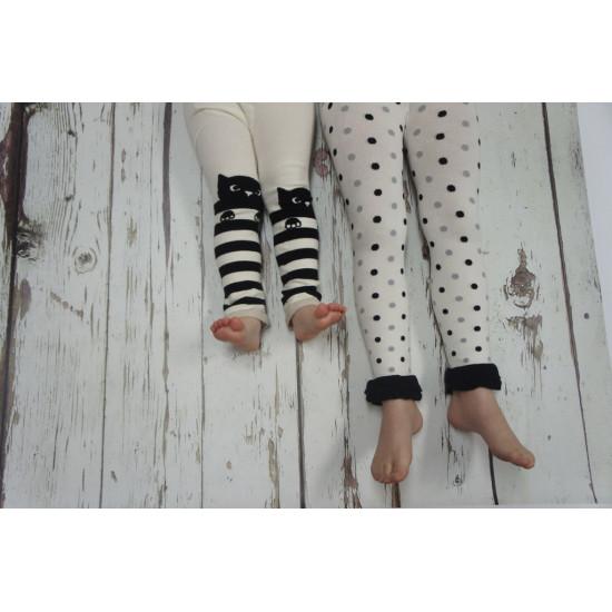 CAT & STRIPE LEGGINGS