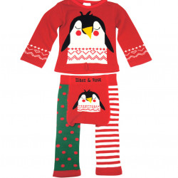 CHRISTMAS PENGUIN WINTER SET