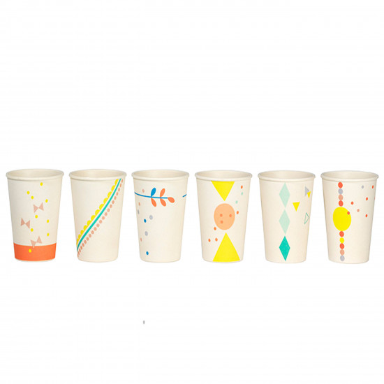 SET 6X CUP PRINT