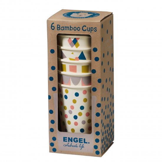 SET 6X CUP CIRCUS