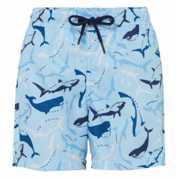 BOYS AQUA SHARK SWIMSHORT