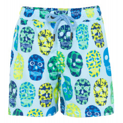 BOYS SURF SKULL SWIMSHORT