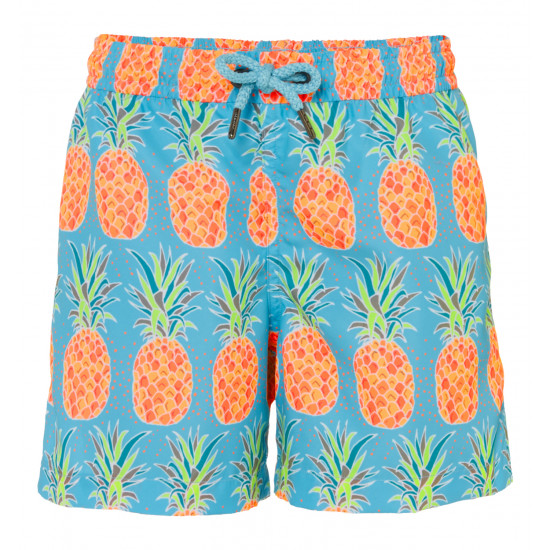 BOYS BEACH PINEAPPLE SWIMSHORT