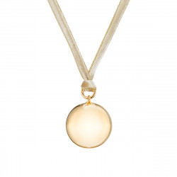 VELVET PREGNANCY NECKLACE YELLOW GOLD