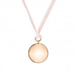 VELVET PREGNANCY NECKLACE SILVER PINK GOLD