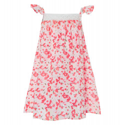 GIRLS JAPANESE BLOSSOM CROCHET DRESS