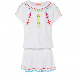 GIRLS DREAMCATCHER EMBROIDERED DRESS