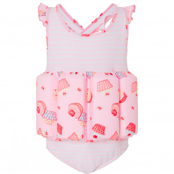 GIRLS MINI CUPCAKE FLOATSUIT
