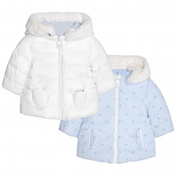 REVERSIBLE COAT FOR BABY