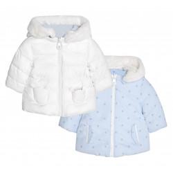 REVERSIBLE COAT FOR BABY