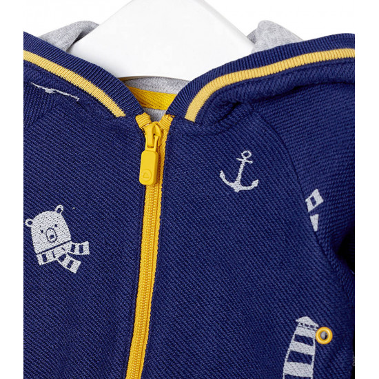 HOODED SWEATSHIRT FOR BABY BOY