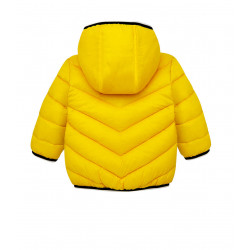 FEATHER EFFECT COAT FOR BABY BOY
