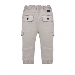 TROUSERS WITH PATCHES FOR BABY BOY JOGGER FIT