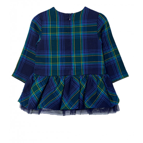 CHECKED DRESS FOR BABY GIRL