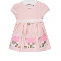 DRESS WITH EMBROIDERIES FOR BABY GIRL