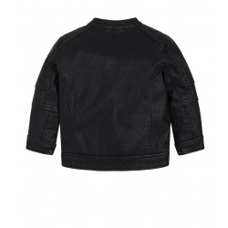 LEATHERETTE JACKET FOR BABY BOY