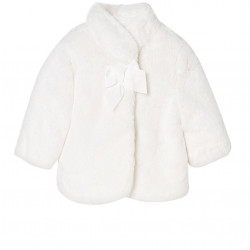 FAUX FUR COAT FOR BABY GIRL