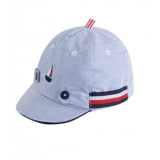 BABY BOY STRIPED CAP