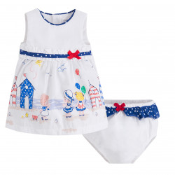 DRESS WITH PRINT FOR BABY GIRL