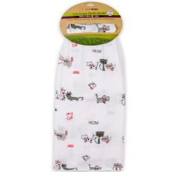 CAT FRIENDS MUSLIN