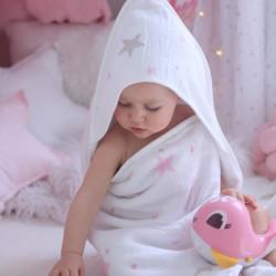PINK STAR TOWEL
