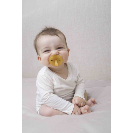 RUBBER PACIFIER ORTHODONTIC ROUND L BF