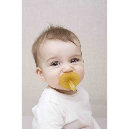 RUBBER PACIFIER ROUND S BF