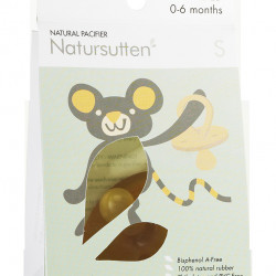 RUBBER PACIFIER ROUND S