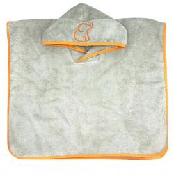 ORANGE PONCHO TOWEL