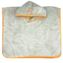 ORANGE PONCHO TOWEL