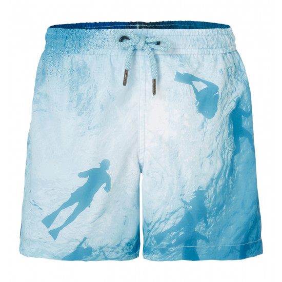 BOYS PHOTOGRAPHIC DIVER SWIMSHORT