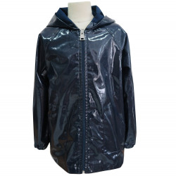 NAVY UNISEX RAINCOAT