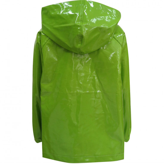 GREEN UNISEX RAINCOAT