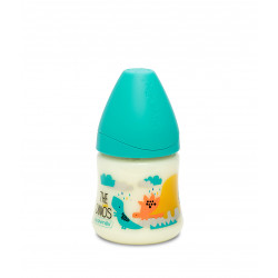 WIDE-NECK BOTTLE WITH ANATOMICAL TEAT