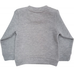 GREY  CLOUD EMBROIDERED SWEAT FOR BABY