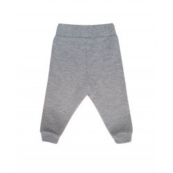 GREY CLOUD EMBROIDERED PANTS FOR BABY