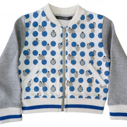 BLUE PENGUIN BOMBER JACKET
