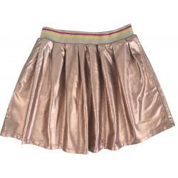 ROSE GOLD SKIRT-ECRU SWEATSHIRT FOR GIRLS