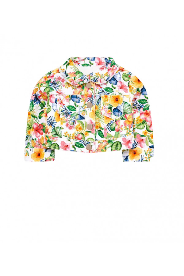 PATTERNED JACKET FOR BABY GIRL
