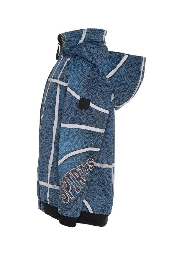 CLOUDY BLUE BASKET